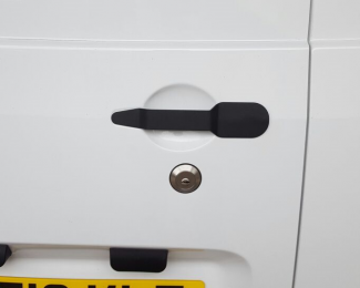 Sussex Installations PEU4-SLHB PEUGEOT PARTNER SLAM LOCK & HANDLE BLANK (2008 - 2018) Slamlock and metal replacement handle for the original Peugeot Partner 2008  2018 handle Horam
