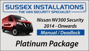 Sussex Installations NIS5-PP-1S-RB-D Nissan NV300 2014-ON Platinum Package Nissan NV300 2014 Onwards Van Platinum Security Package Peacehaven