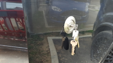 replock  Hykee Replock High Security replacement drivers door lock BERKSHIRE