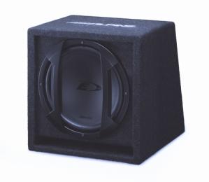 Alpine SBE-1244BR Bass Reflex Subwoofer Box ESSEX