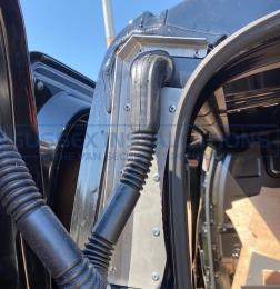Sussex Installations VAU9-LG-RB Vauxhall Vivaro Loom Guard Vauxhall Vivaro 2019On rear barn door wiring loom protector Tonbridge