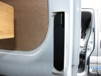 Sussex Installations Ford Transit Handle Guard Ford Transit side load  Sussex - London & The South East