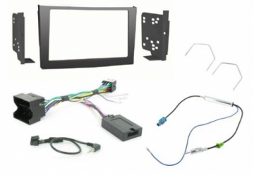 Alpine VX-1 Vauxhall Black 2DIN Perfect Fitting Kit DURHAM