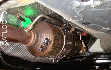 CATLOC CAT1022 CATLOC 1022 Catalytic Converter Theft Protection System Peugeot Boxer 22D Citroen Relay 22D WEST YORKSHIRE