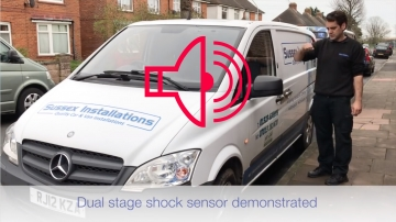 Sussex Installations ALA-SHOCK-SENSOR-DUAL-ZONE Alarm Dual Zone Shock Sensor  Warn Away and Full Alarm Reaction Sussex - London & The South East