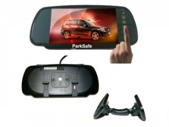 ParkSafe PS7006 7 Mirror Colour LCD Monitor Touch Screen KENT