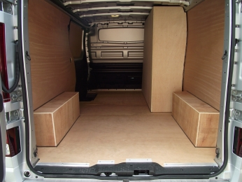 VAL Ply kits for vans- Precision cut using our CNC machine.  We supply and fit ply lining kits for all major van makes and models Bristol- Gloucester - Somerset
