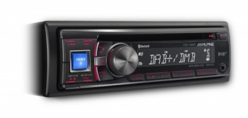 Alpine CDE-136BT DAB Receiver with Advanced Bluetooth DURHAM