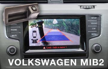VW Golf, Passat, Polo, Tiguan, T-Ro Aftermarket Reversing Camera Lincs