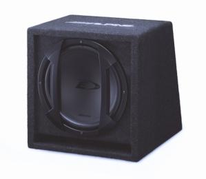 Alpine SBE-1044BR Bass Reflex Subwoofer Box DURHAM