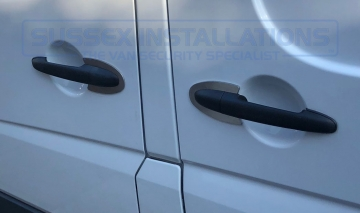 Sussex Installations MER2-PP MERCEDES VITO PRO PLATE Pro Plate handle protection shield for the Mercedes Vito 2004  2015 Sussex - London & The South East