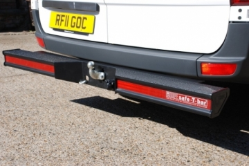 Hope T Bar LVB-3670 With Towbar  For Mercedes Sprinter 2006 ONWARDS  MWB  and LWB models WITH SINGLE REAR WHEELS  KENT
