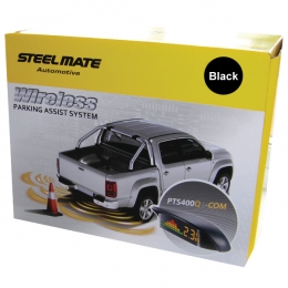 Steelmate PTS400QC 1224V 4 sensor rear only kit with wireless display  Truck  Motorhome  Special application WEST YORKSHIRE