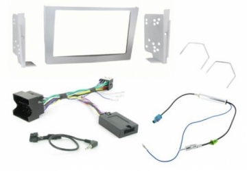 Alpine VX-2 Vauxhall Silver 2DIN Perfect Fitting Kit DURHAM