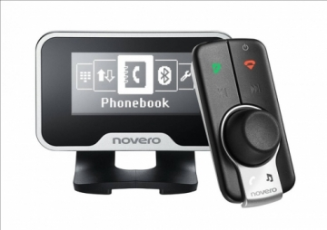 Novero THE TRULY ONE Bluetooth handsfee Novero iphone music streaming handsfree car kit BERKSHIRE
