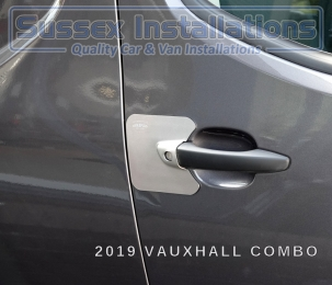 Armaplate SENTINEL - CITROEN BERLINGO (2018 ONWARDS) Bolt on Armaplate Sentinel door lock protectors Sussex - London & The South East