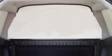 Van Guard Solid Bulkhead- Manufactured from robust Zinc coated Steel. Full or half height solid bulkhead Complete visual barrier between the cab and load area Bristol- Gloucester - Somerset