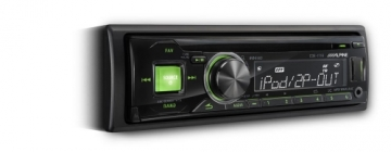 Alpine CDE-171R/RR/RM CD Receiver with iPod and USB Controller DURHAM