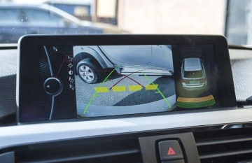 BMW 1, 2,3,4,5 series X1,2,3,5 Mini Aftermarket RetroFit Reversing Camera Integration to BMW iDrive Lincs
