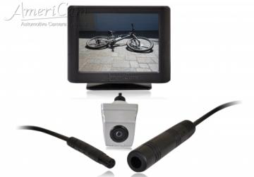 AmeriCam K21S Discreet Silver MicroBlock Reversing Camera Kit Surface mount MicroBlock reversing parking camera kit KENT