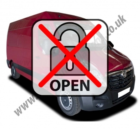 Sussex Installations VAU6-LMOD VAUXHALL MOVANO (2010 ONWARDS) Vauxhall Movano 2010 onwards Locking Modification to stop the manual door locking from unlocking the load area Sevenoaks
