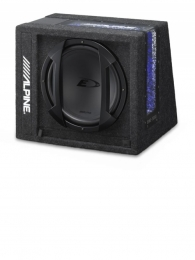 Alpine SWE-3200 12 Inch Amplified Subwoofer Box ESSEX