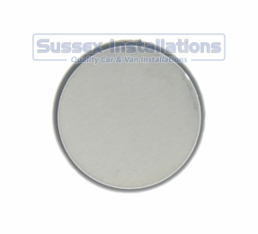Sussex Installations REPAIR-SHIELD-1-ROUND Stainless steel repair shield  round 50mm  1 stud Rye