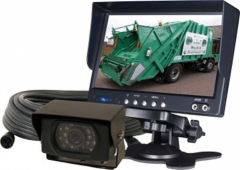 Veba AV6024DM reverse camera with monitor. Fully fitted reversing camera system with 6 inch colour monitor WORCESTERSHIRE
