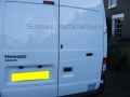 Sussex Installations FOR1-GP2-1S-RB-D Ford Transit 2001-2013 - Gold Package Ford Transit 20012013 MK6 amp MK7 Vans Security  Gold Package  Manual  Deadlock Sussex - London & The South East
