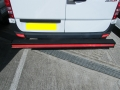 Hope T Bar LVB-3260 Straight For Mercedes Sprinter 2006 ONWARDS  MWB  and LWB models WITH SINGLE REAR WHEELS  DURHAM