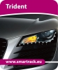 Smartrack Trident vehicle tracking system. Trident  Stolen Vehicle Recovery System with online activation SVRS manchester