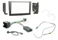 Alpine VX-1 Vauxhall Black 2DIN Perfect Fitting Kit KENT