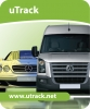 Smartrack uTrack vehicle tracking system. Fully fitted Smartrack Utrack Fleet tracking unit GREATER MANCHESTER