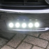 Steelmate RX560B Fully fitted LED running lights HERTS