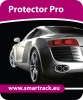 Smartrack Protector Pro vehicle tracking system. Fully fitted Smartrack Protector Pro tracking unit Jersey