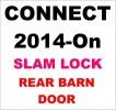 Locks 4 Vans 1 x Barn Door Slam Lock Ford Connect 2014-On All Prices Fully Fitted and Inclusive of VAT SURREY