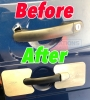 Armaplate SENTINEL - VW T6 & T5 TRANSPORTER 2003 - ONWARDS Bolt on Armaplate Sentinel door lock protectors Sussex - London & The South East