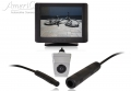 AmeriCam K21S Discreet Silver MicroBlock Reversing Camera Kit Surface mount MicroBlock reversing parking camera kit DURHAM