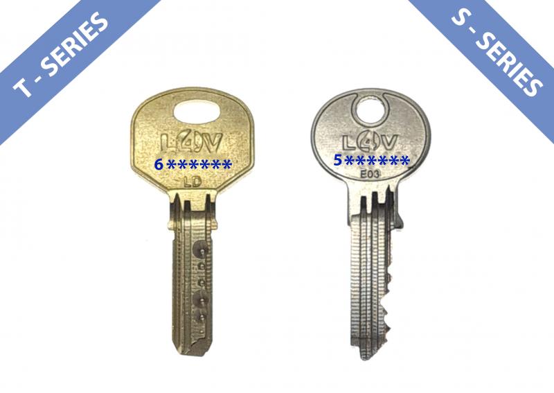 Sussex Installations Deadlock / Slamlock Keys (Replacement Keys) Replacement Locks 4 Vans L4V T series S series or Sentinel series slamlock or deadlock keys Peacehaven