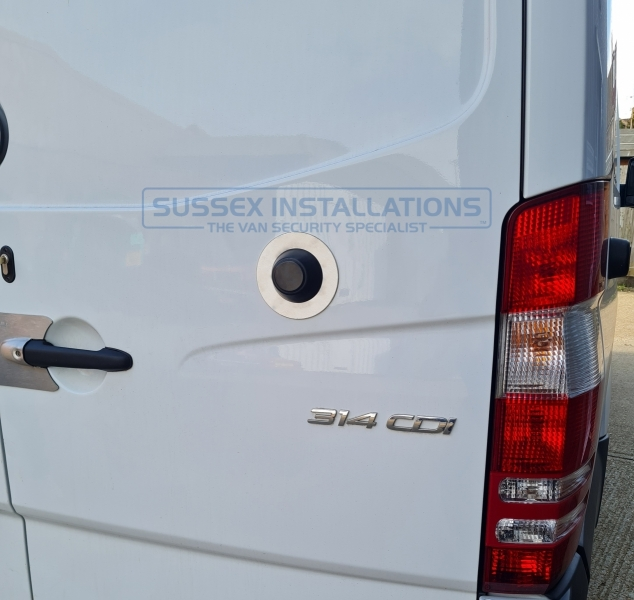 Sussex Installations MER1-RB-SHIELD2 SPRINTER ANTI DRILL MAGNET Mercedes Sprinter 20062018 rear right barn door internal handle shield set Sussex - London & The South East