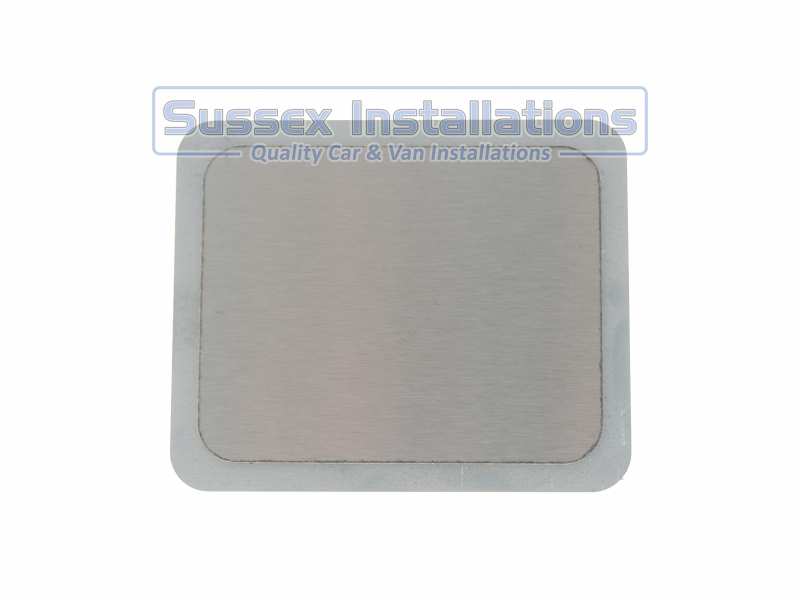 Sussex Installations REPAIR-SHIELD-2-RECTANGLE Stainless steel repair shield  rectangle 100mm x 80mm  4 stud Sussex - London & The South East